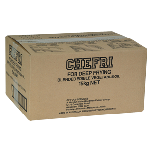 Chefri Solid Oil 15kg product photo