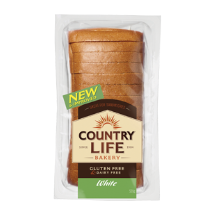 Gluten free bread country life