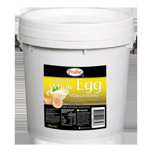 Image of Praise Traditional Whole Egg Mayonnaise 14kg