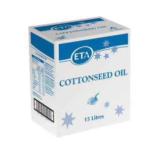 ETA Cottonseed Oil 15L (Bag In a Box)