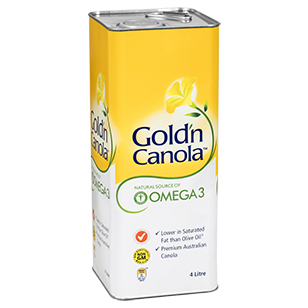 Gold'n Canola Oil 4L