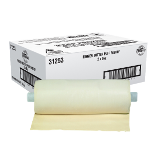Image of Pampas Frozen Dispenser Roll Butter Puff Pastry (5kg)