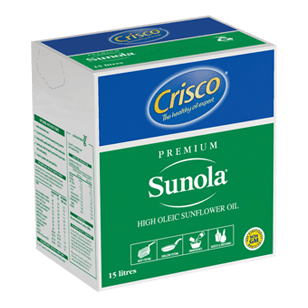 Crisco Sunola 15L (Bag In a Box)