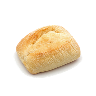 QBA Simply Thaw & Serve Artisan Dinner Roll White