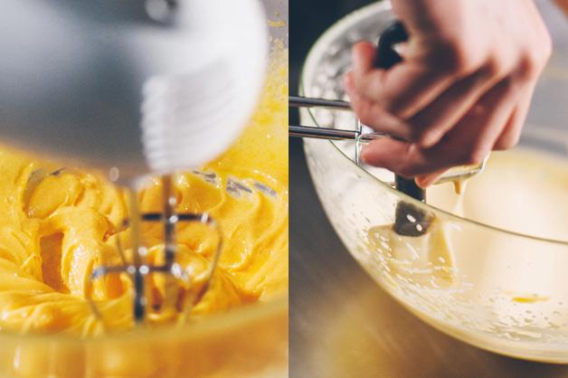 Egg Yolk Mix Should Go Lighter