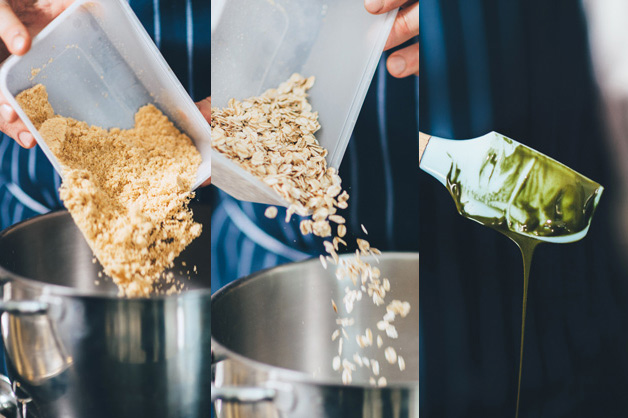 Pistachio Crunch Ingredients