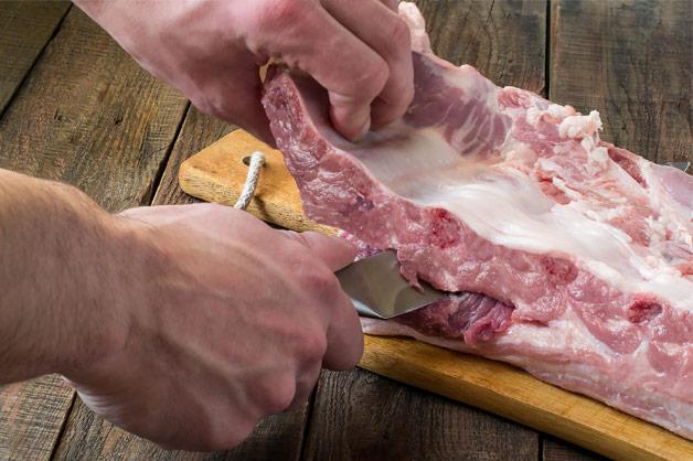 Butchers cut