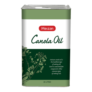 Meizan Canola Oil 20L (Square Tin with Bung)