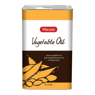 Meizan Vegetable Oil 20L (Square Tin)