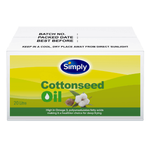 Simply Cottonseed Oil 20L (Bag in Box)