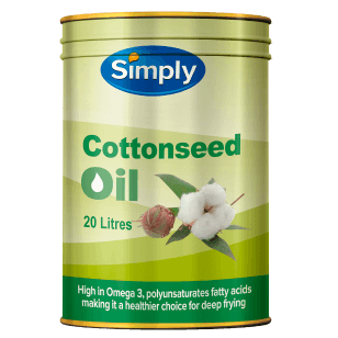 Simply Cottonseed Oil 20L (Drum)