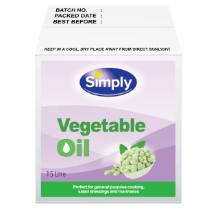 Simply Vegetable Oil 15L (Bag in Box)