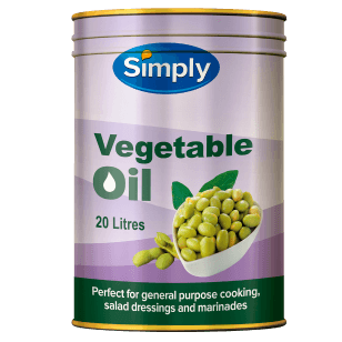 Simply Vegetable Oil 20L (Bung Drum)