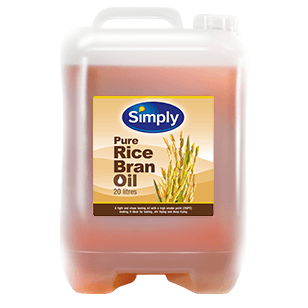 Simply Rice Bran Oil 20L (Jerry Can)