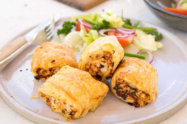 Finished Sausage Rolls