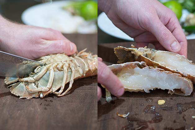 Prepare you seafood