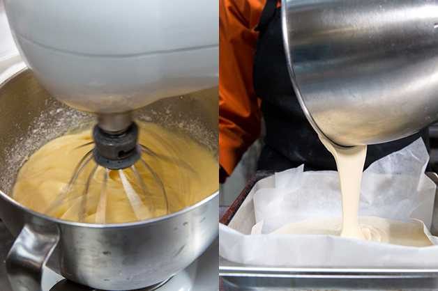 Pour Cake Mix