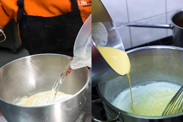 Make Custard Mix