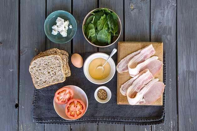 Breakfast Stack Ingredients