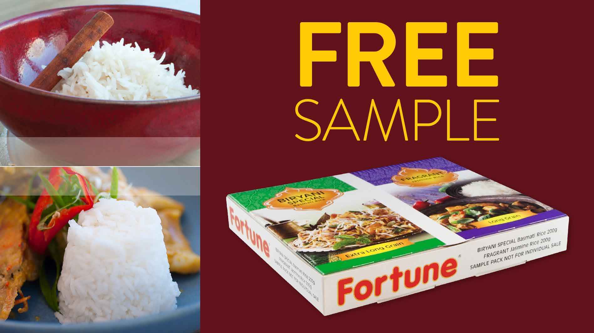 Get Your Free Fortune Rice Sample Box