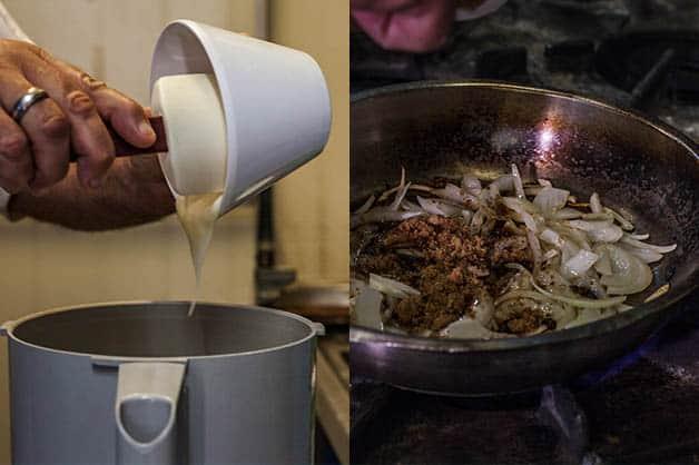 Making BBQ Mayonnaise