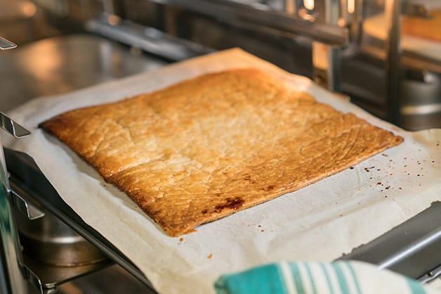 Pastry golden brown