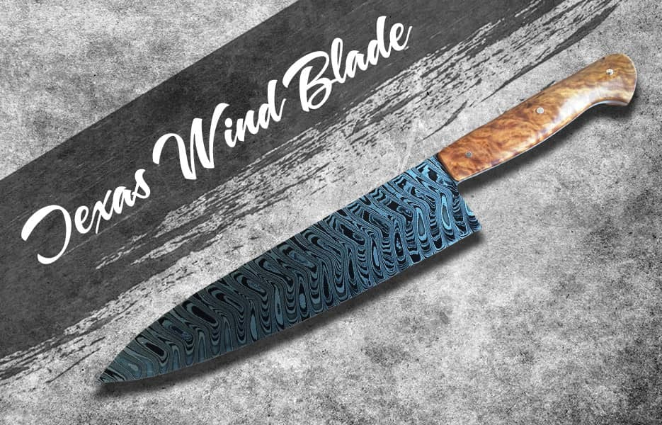 Textas wind blade knife