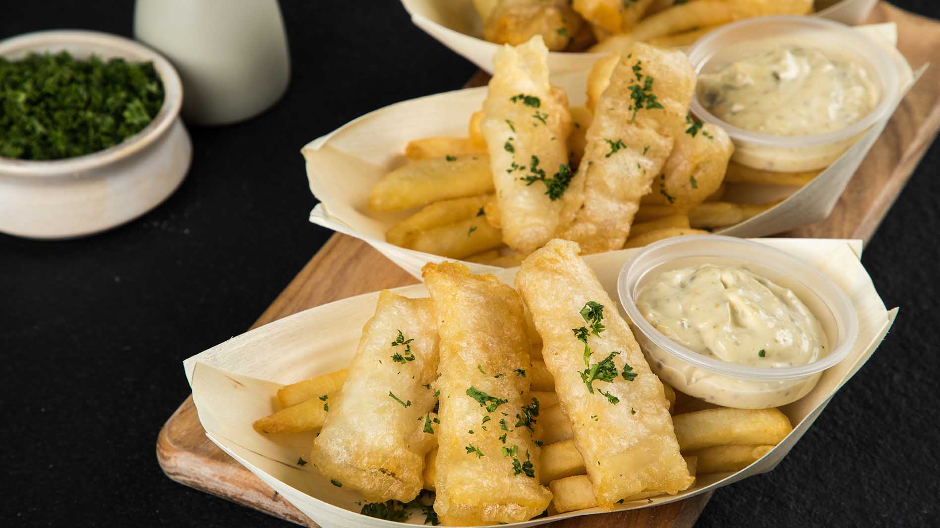 Fish and Chips with Homemade Tartare Sauce Recipe