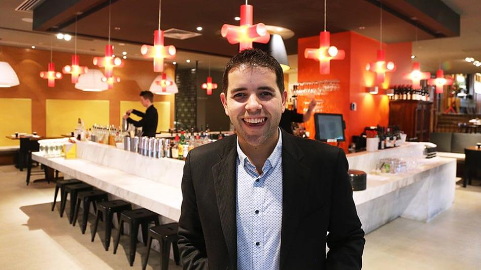 Picture of Albert Vrioni-Sikkens, the Restaurant Manager at Red Spice Road QV