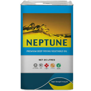 Neptune Palm Oil Square Tin without Bung 20L