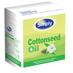 Simply Cottonseed Oil 15L (Bag In a Box)
