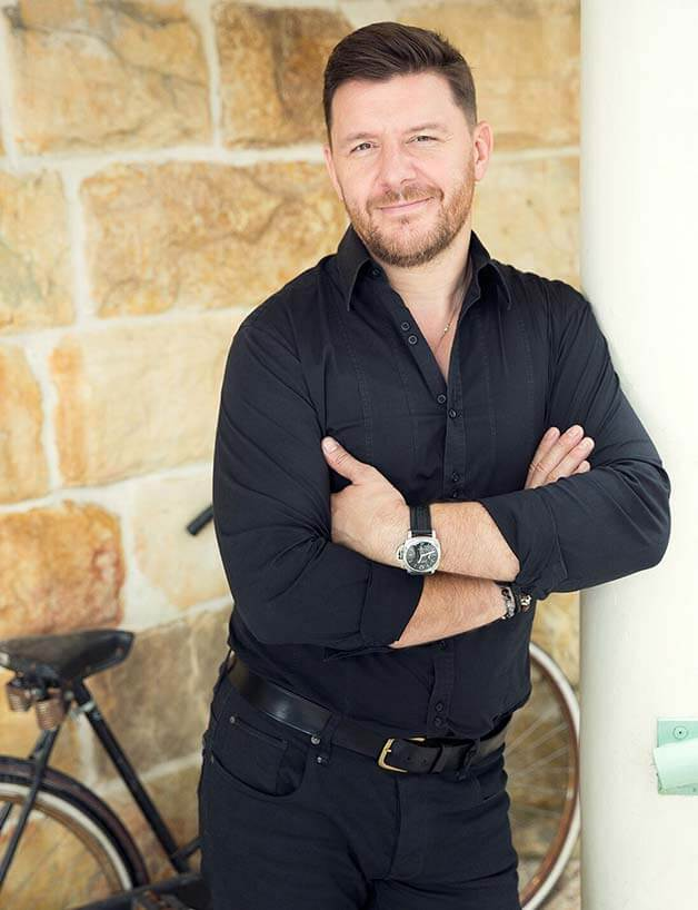Photo of TV chef Manu Feildel