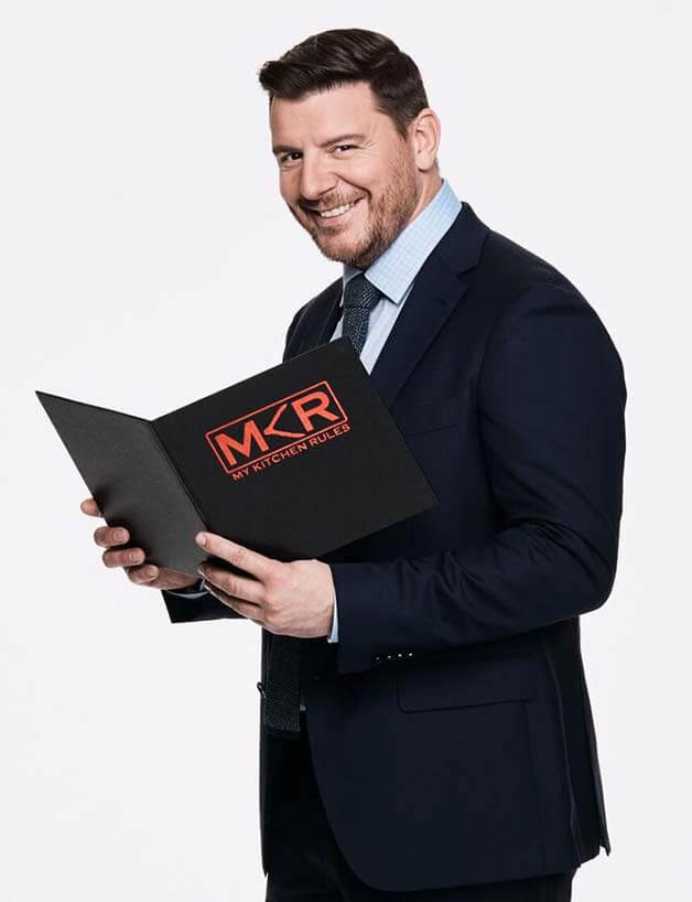 Image of Manu Feildel on My Kitchen Rules