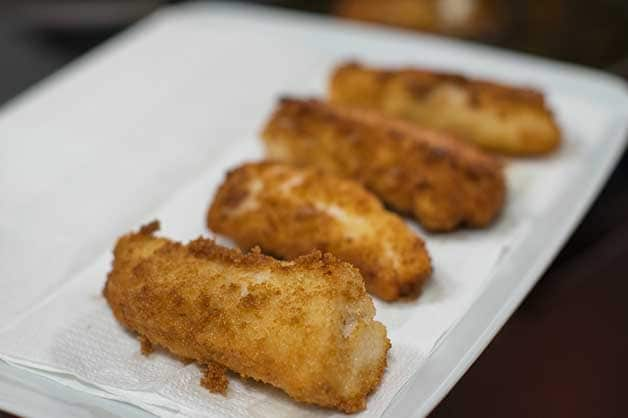 Image of the cooked flathead fillets