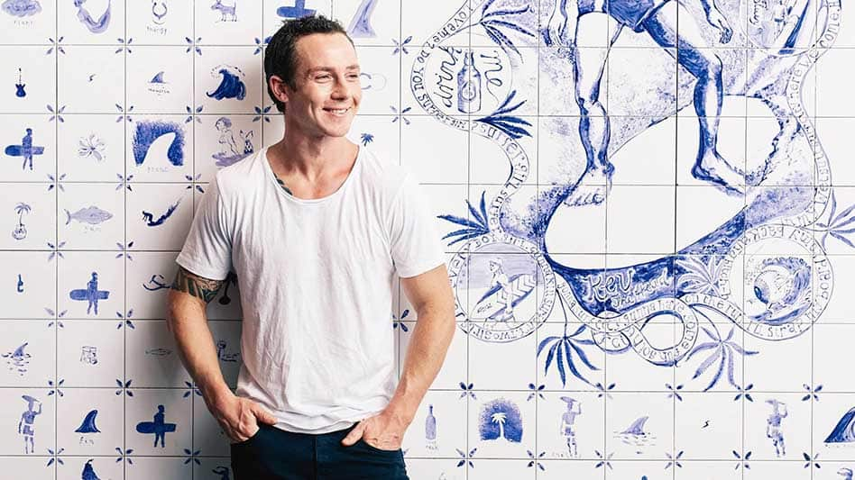 Co-owner of The Bucket List Bondi, Tom Walton