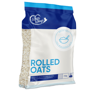 Image of WHITE WINGS ROLLED OATS 750G