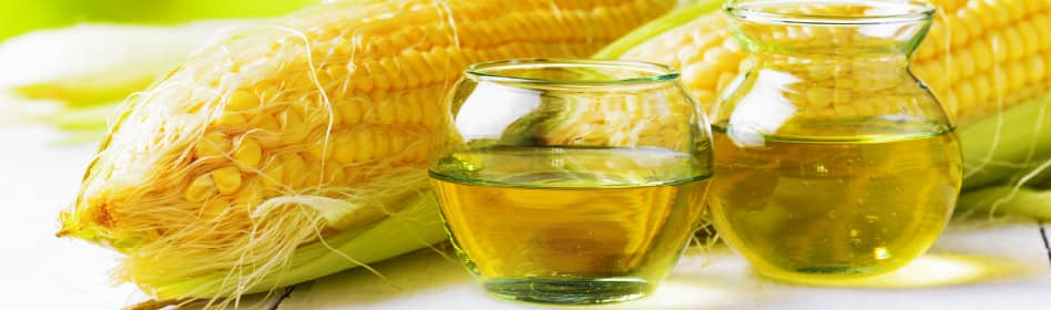 Image of corn being made into corn oil