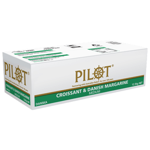 Pilot Croissant & Danish pastry margarine 12.5kg