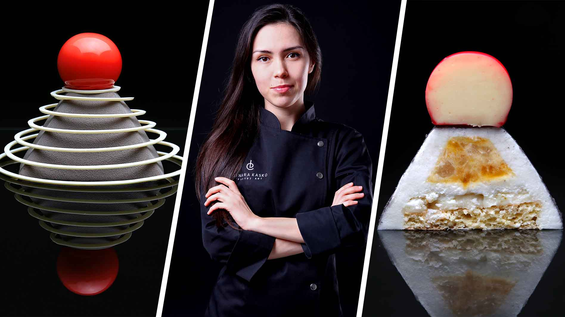 International chef reveals her tricks to mastering a dessert using a 3D printer