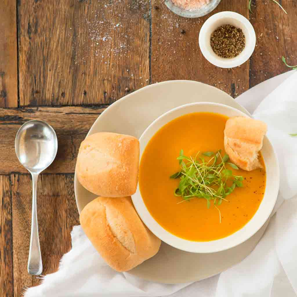 Spiced Carrot and Ginger Soup