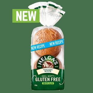 Helga's Gluten Free White Rolls 320g