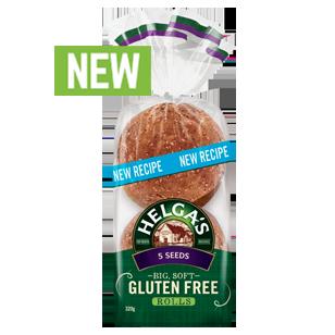 Helga's Gluten Free 5 Seed Rolls 320g