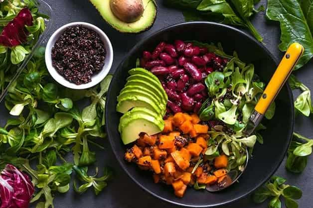 Image showing vegan friendly foods in a bowl