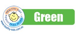 Green foods are 'Fill the Menu' foods. They are good sources of nutrients and are lower in saturated fat, added sugar and/or salt. Green foods should dominate and be promoted on the menu.  <a href=
