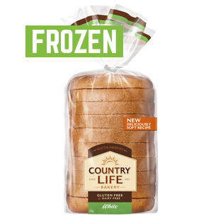 Country Life Gluten Free White 400g Frozen product photo