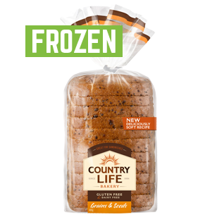 Image of Country Life Gluten Free Grains & Seeds 400g Frozen