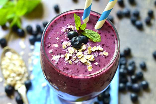 Using oats in a smoothie is now popular