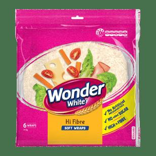 Wonder Wrap Hi Fibre Plus 8 Inches 6 Pack product photo