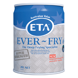 ETA Ever-Fry Blended Vegetable Oil 20L
