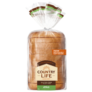 Image of Country Life Gluten Free White 400g